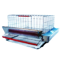 Клетка за пъдпъдъци / 40 cm - за 15 броя - Euroagro