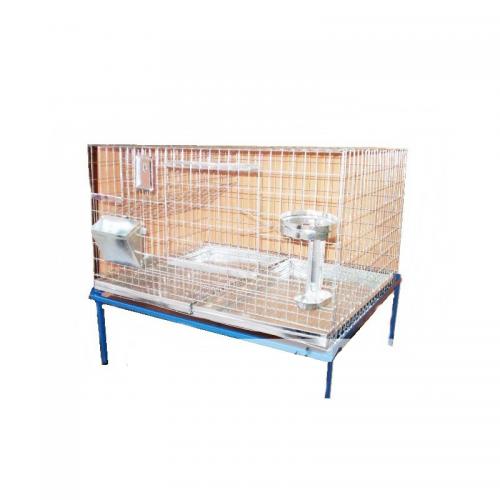 Клетка за зайци - 80x60x50 cm - Euroagro