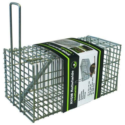 Метален капан за мишки и плъхове Cage Free Trap