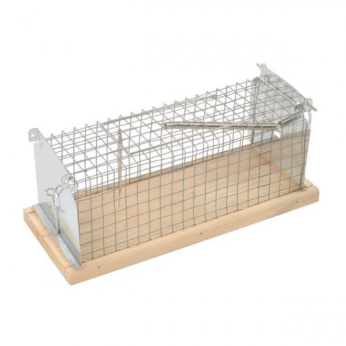 Клетка капан Cage Trap за плъхове и мишки - метален