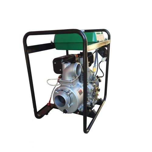 Професионална дизелова моторна помпа KENTSEL CQGZ 100-30 с двигател KAMA (KD 186 FA)
