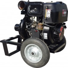 Дизелова моторна помпа KAMA 535 куб. м., 12 к.с., 66 м3/ч, 6.6 бара налягане, 100мм диам.