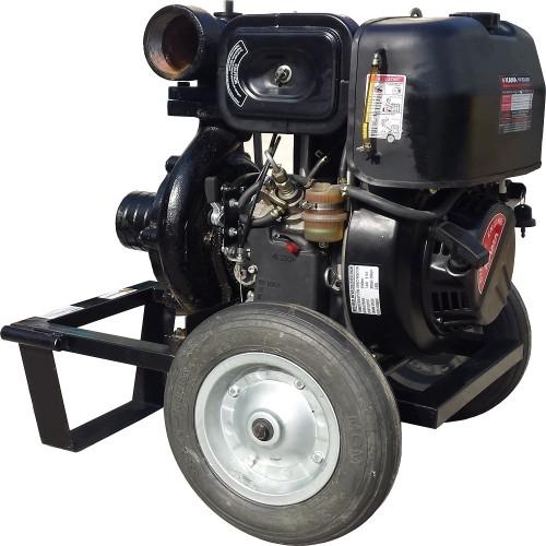 Дизелова моторна помпа за вода GARDELINA с двигател KAMA (KD 188 FAE)