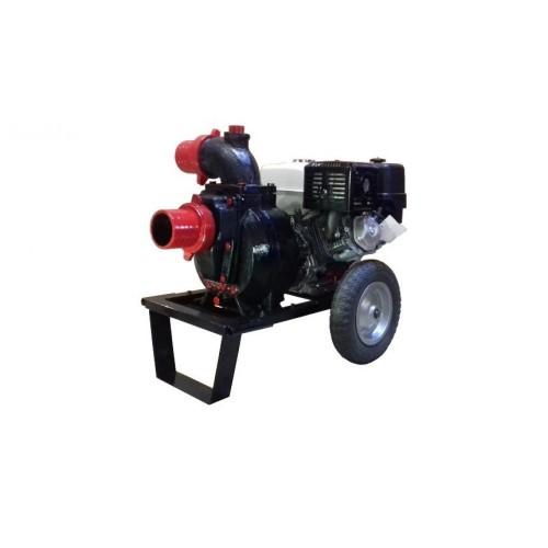 Бензинова моторна помпа за мръсна/отпадна вода GARDELINA с двигател KAMA (KG390 OHV)