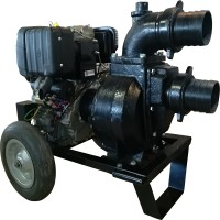 Професионална бензинова моторна помпа за мръсна вода GARDELINA с двигател BRIGGS & STRATTON (X R 2100 OHV)