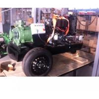 Професионална дизелова моторна помпа за вода Lombardini SKM 65-2