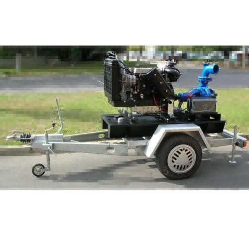 Професионална дизелова моторна помпа за вода Lombardini SNT 50/250