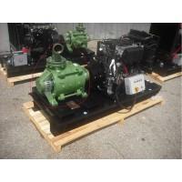 Професионална дизелова моторна помпа за вода Lombardini SKM 50/4