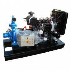 Професионална дизелова моторна помпа за вода Lombardini SNT 80-200