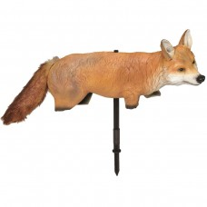 Плашило 3D Естествена лисица с подвижна опашка срещу птици и мишки - Angry Fox®
