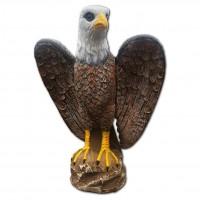 Плашило Орел в естествен размер срещу птици - Крилат орел Votton®