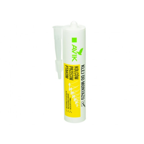 Специален професионален силикон за залепване на шипове срещу птици  - 300 мл.