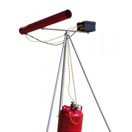Газово оръдие с трипод за защита от птици Carousel Triplex V Purivox ®