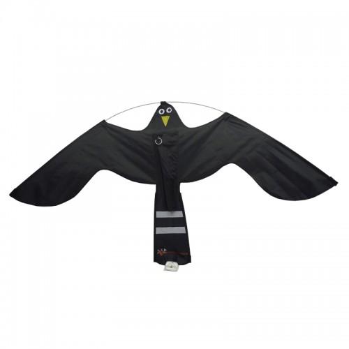 Хвърчило срещу птици Черен ястреб 1.4m x 0.8m  - Hawk Kite