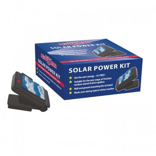 Соларен захранващ панел SOLAR POWER KIT за устройства срещу птици и животни