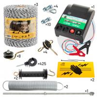 Комплект електропастир - 3000 м с якост на опъна 130 кг.
