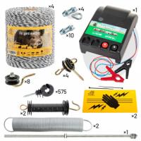 Комплект електропастир - 4000 м с якост на опъна 130 кг.