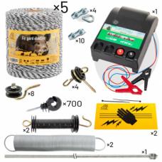 Комплект електропастир - 5000 м с якост на опъна 130 кг.