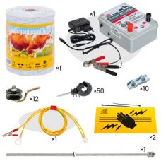 Комплект електропастир - 400 м с якост на опъна 65кг.