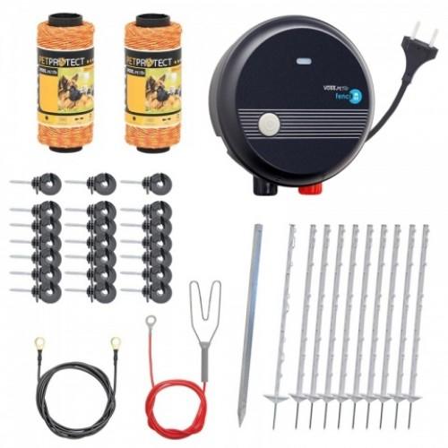 Комплект електропастир за кучета, котки или пилета - 200 м