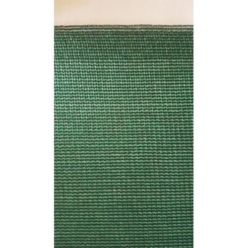 Засенчваща мрежа за ограда - 120 гр., 95% Цвят: Зелен