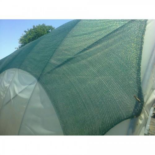 Засенчваща мрежа и предпазваща от градушка  40% - Цвят: Зелен