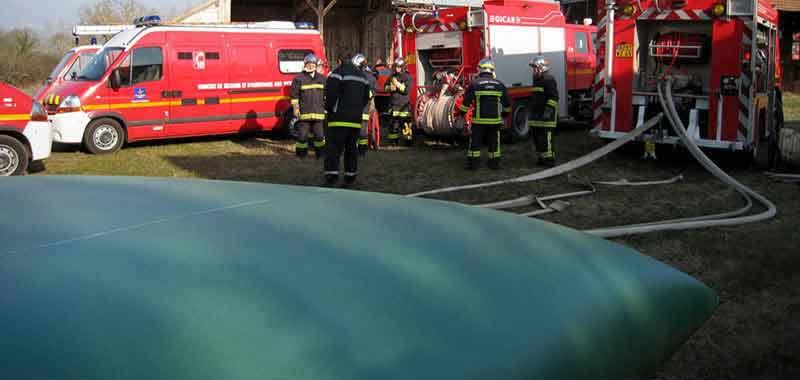 гъвкави резервоари за противопожарни нужди
