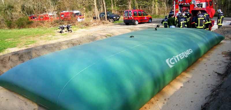 гъвкав резервоар за противопожарни нужди